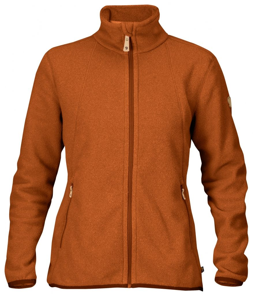 FjallRaven Stina Fleece Autumn Leaf-30