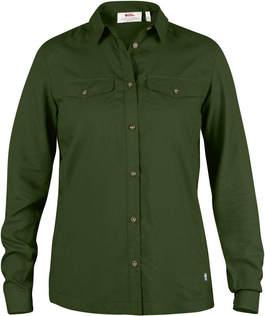 FjallRaven Abisko Vent Shirt LS W. Pine Green-30