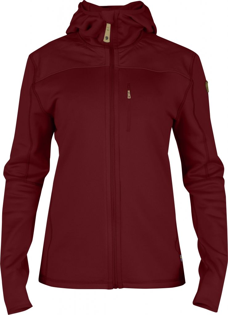 FjallRaven Keb Fleece Jacket W. Ox Red-30