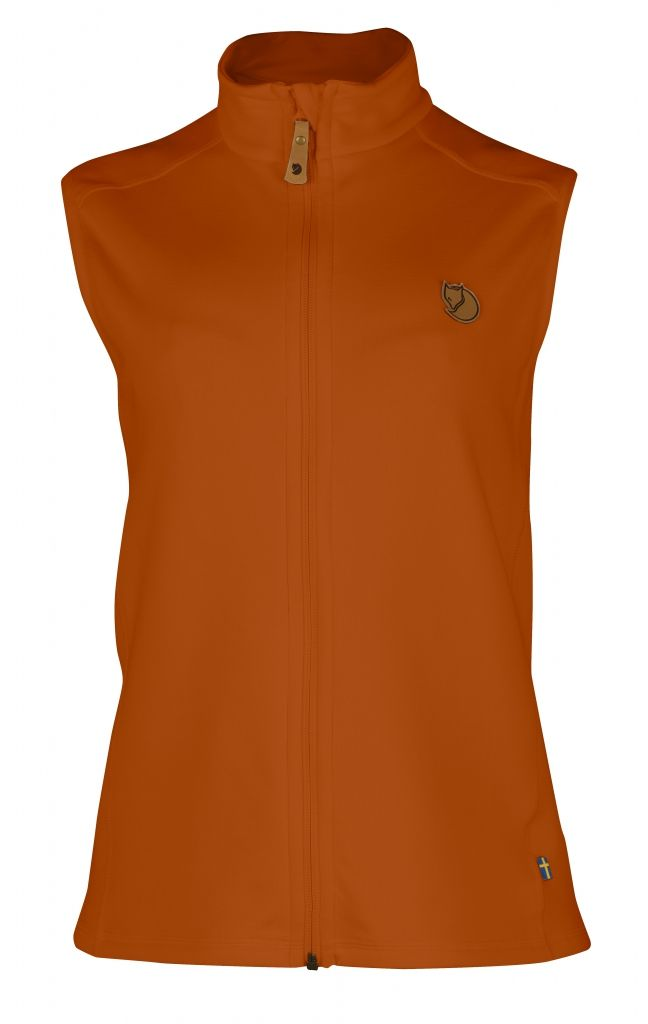 FjallRaven Keb Fleece Vest W. Autumn Leaf-30