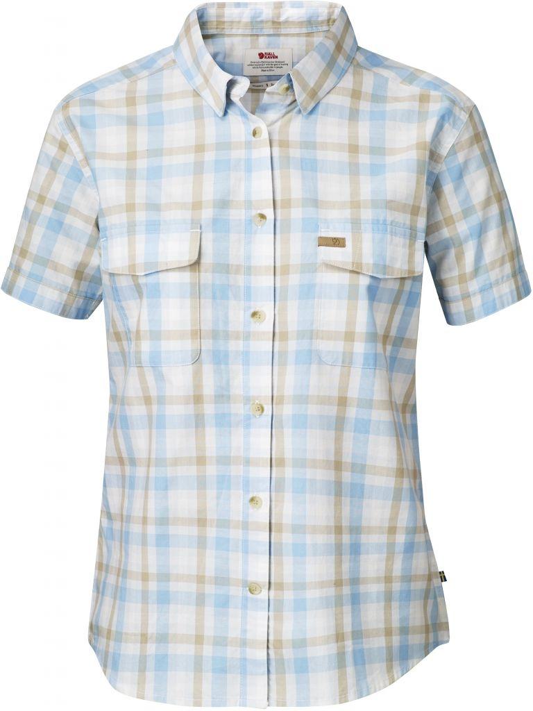 FjallRaven Övik Shirt SS W. Bluebird-30