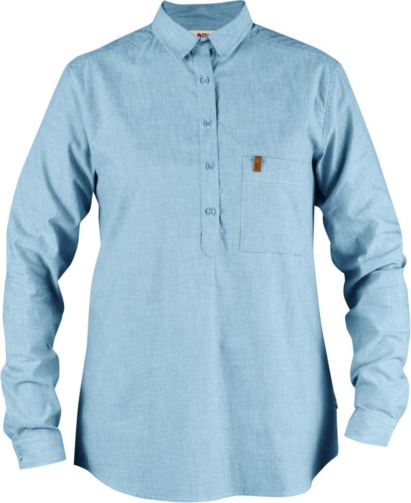 FjallRaven Kiruna Shirt LS W. Bluebird-30