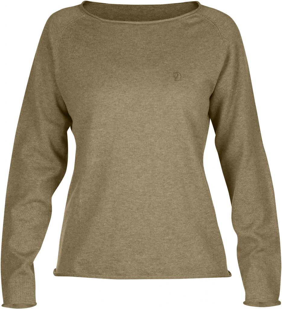 FjallRaven Övik Sweater W. Sand-30