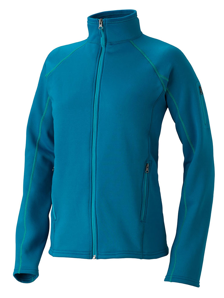Marmot Wm's Stretch Fleece Jacket Dark Atomic-30