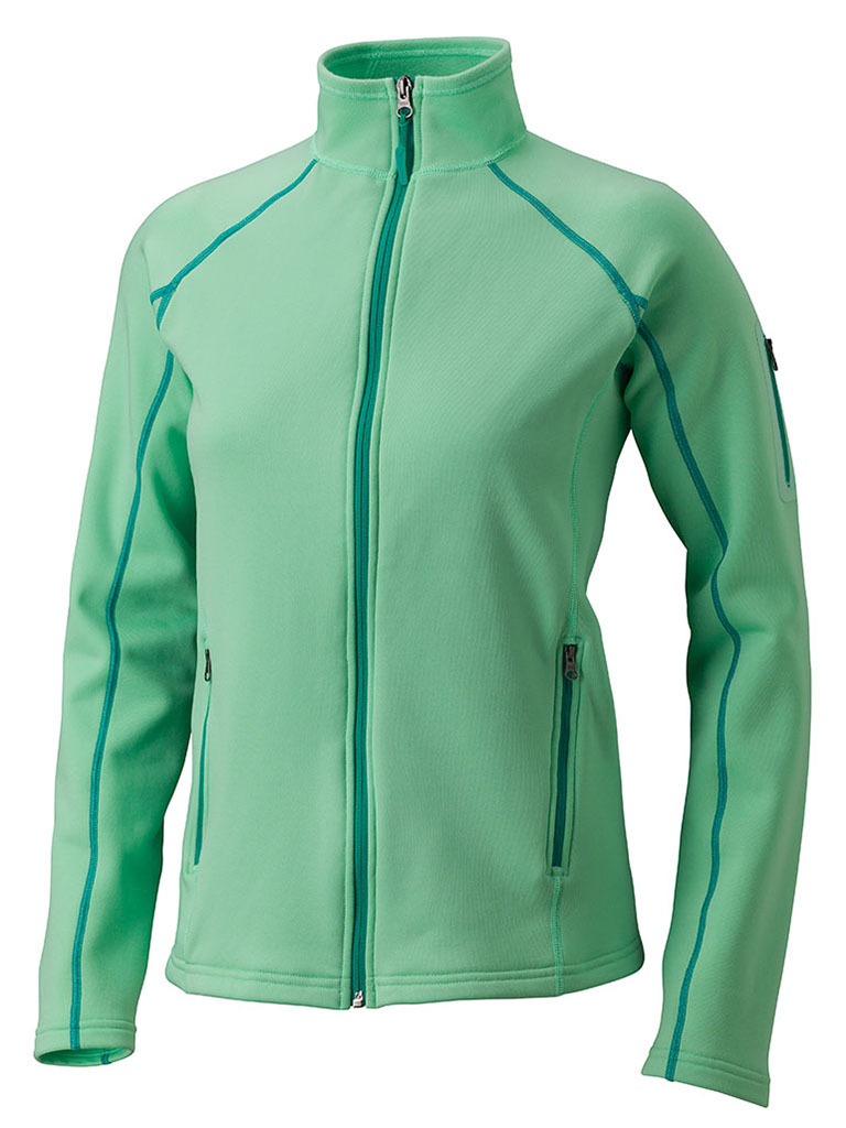 Marmot Wm's Stretch Fleece Jacket Green Frost-30