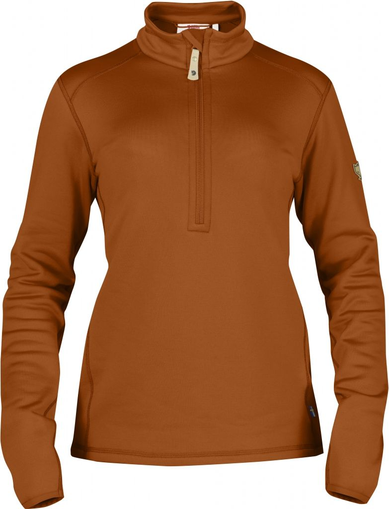 FjallRaven Keb Fleece Half Zip W. Autumn Leaf-30