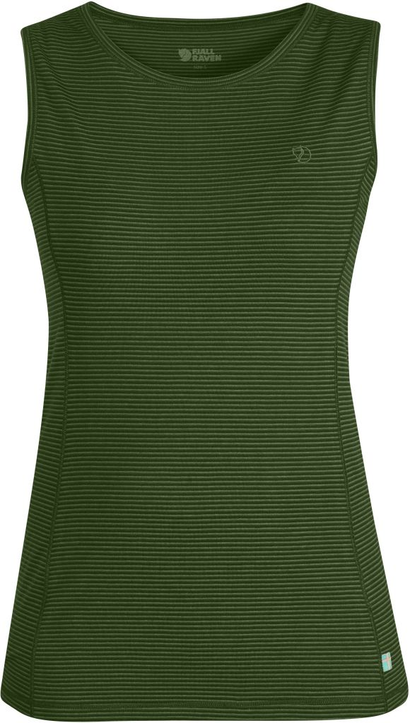 FjallRaven Abisko Cool Tank Top W. Pine Green-30