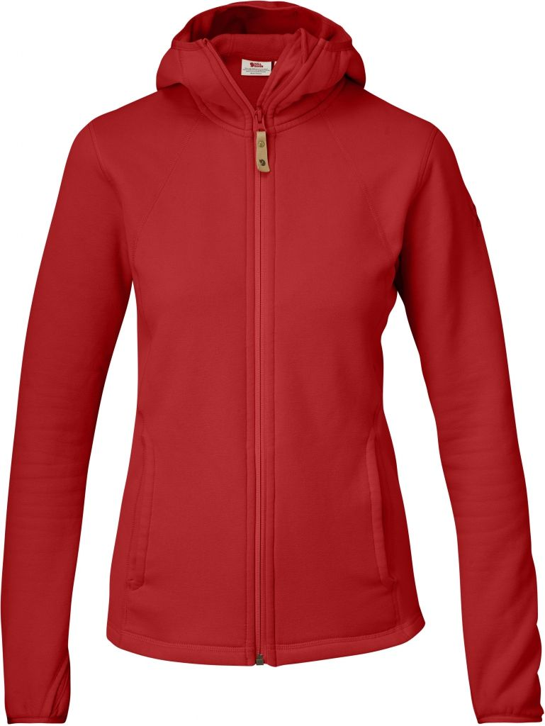 FjallRaven Abisko Fleece Hood W Red-30