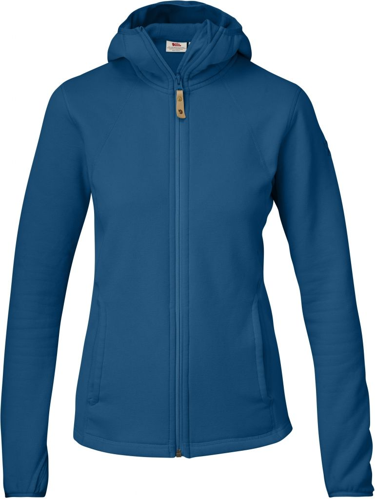 FjallRaven Abisko Fleece Hood W Lake Blue-30