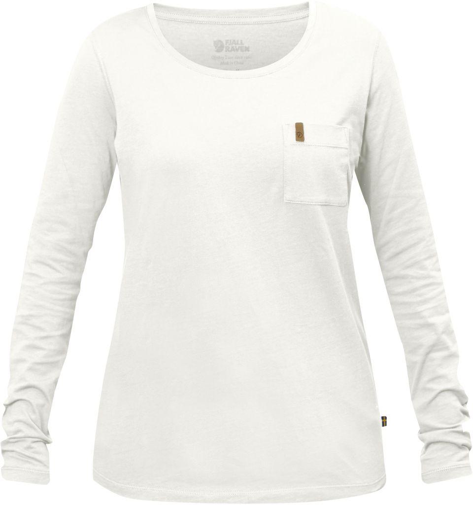 FjallRaven Övik Pocket T-shirt LS W Ecru-30