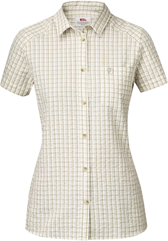FjallRaven Abisko Seersucker Shirt SS W Cork-30