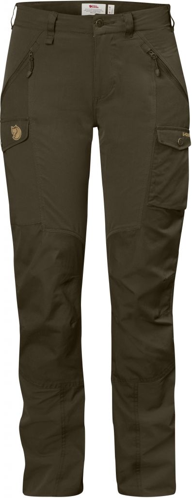 FjallRaven Nikka Trousers Curved W Dark Olive-30