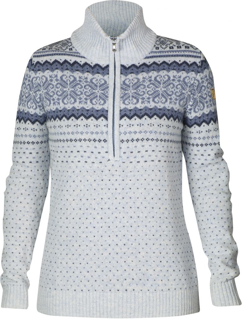 FjallRaven Vika Sweater Glacier Blue-30