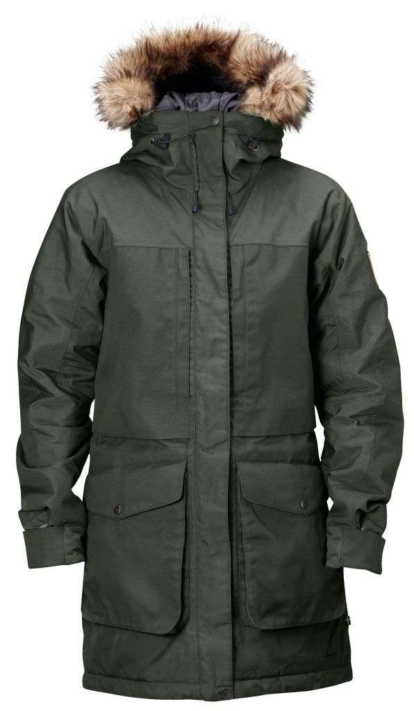 FjallRaven Barents Parka W. Mountain Grey-30