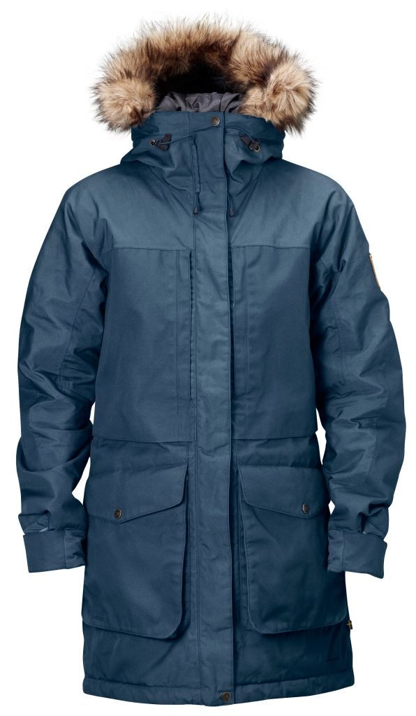 FjallRaven Barents Parka W. Uncle Blue-30