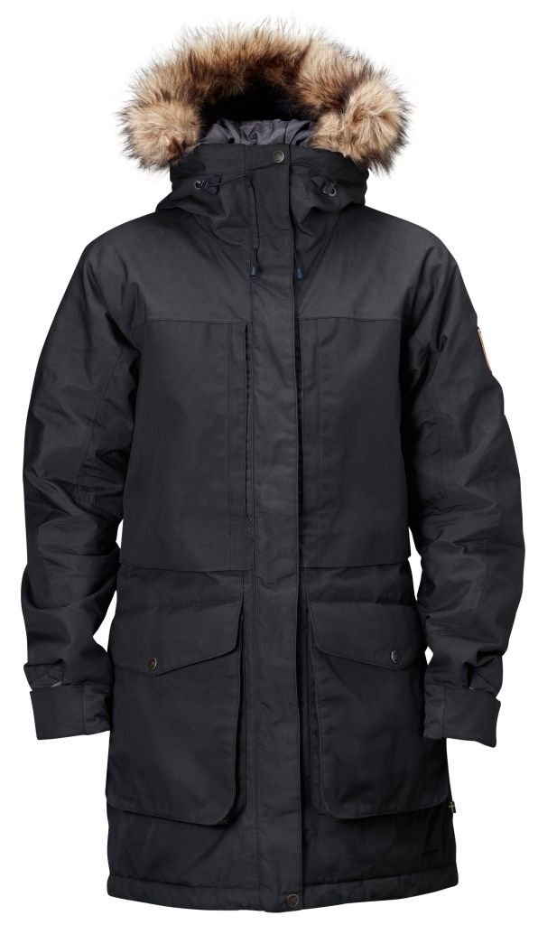 FjallRaven Barents Parka W. Black-30
