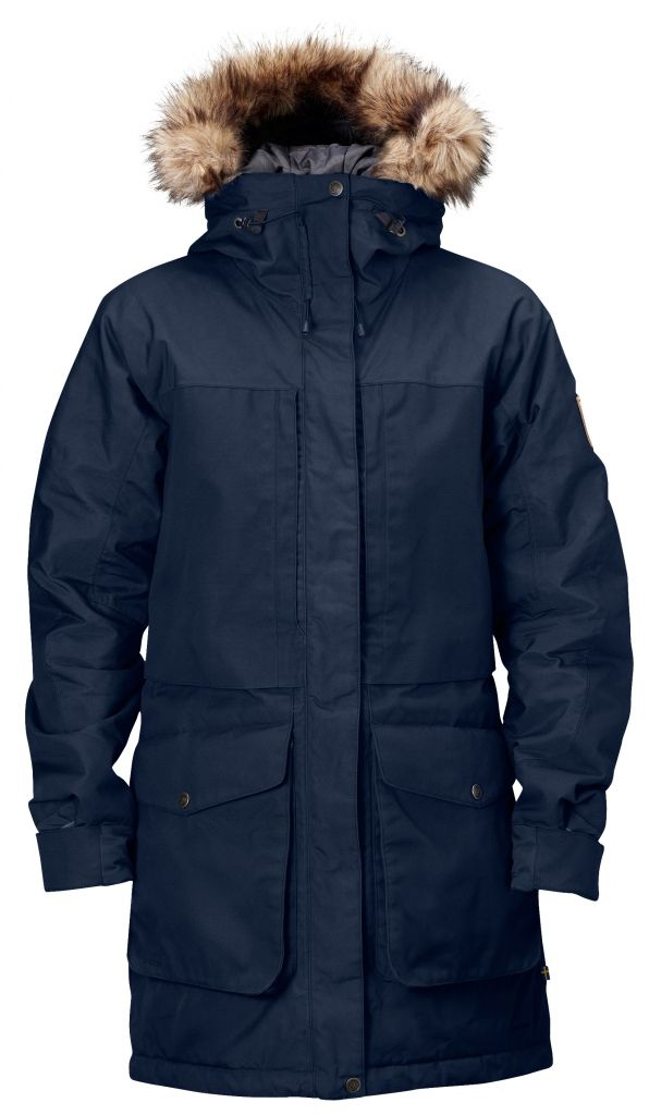 FjallRaven Barents Parka W. Dark Navy-30