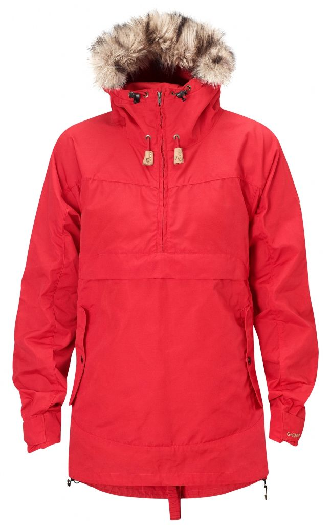 FjallRaven Iceland Anorak W. Red-30