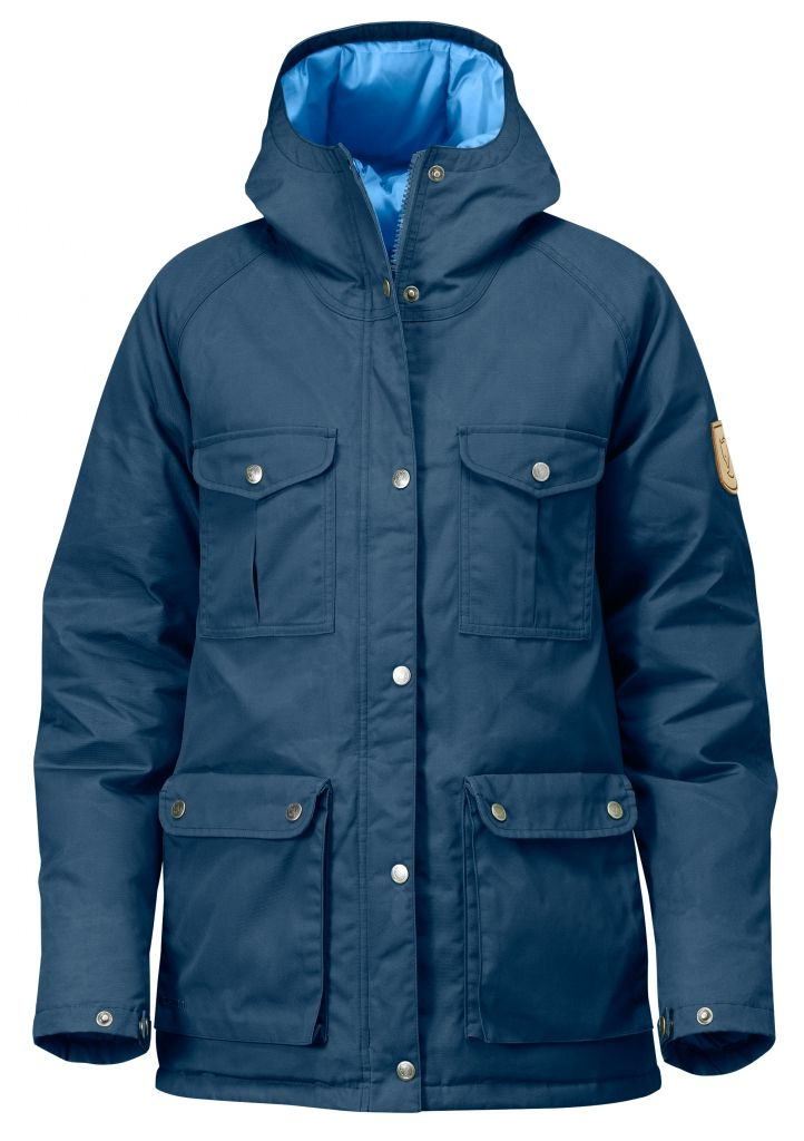 FjallRaven Greenland Down Jacket W. Uncle Blue-30