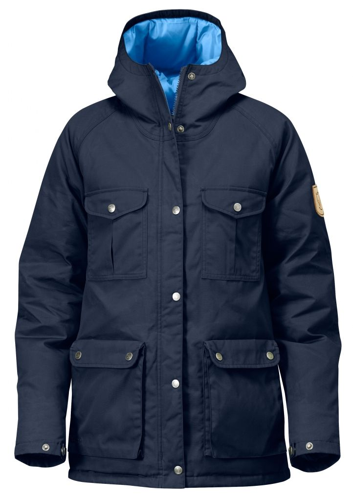 FjallRaven Greenland Down Jacket W. Dark Navy-30