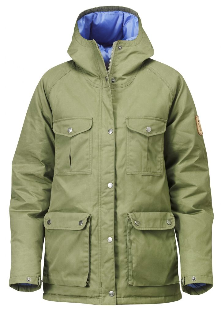 FjallRaven Greenland Down Jacket W. Green-30
