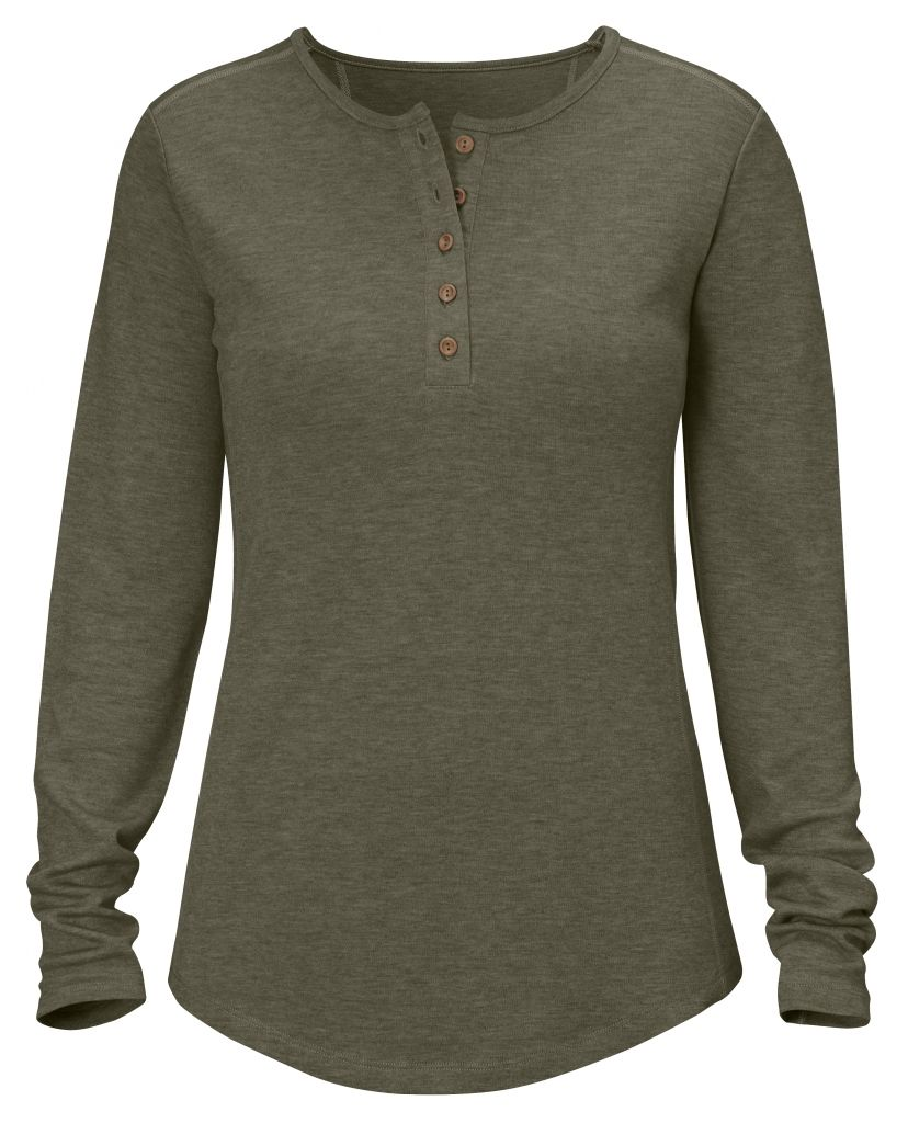 FjallRaven Övik Base Button Neck Tarmac-30