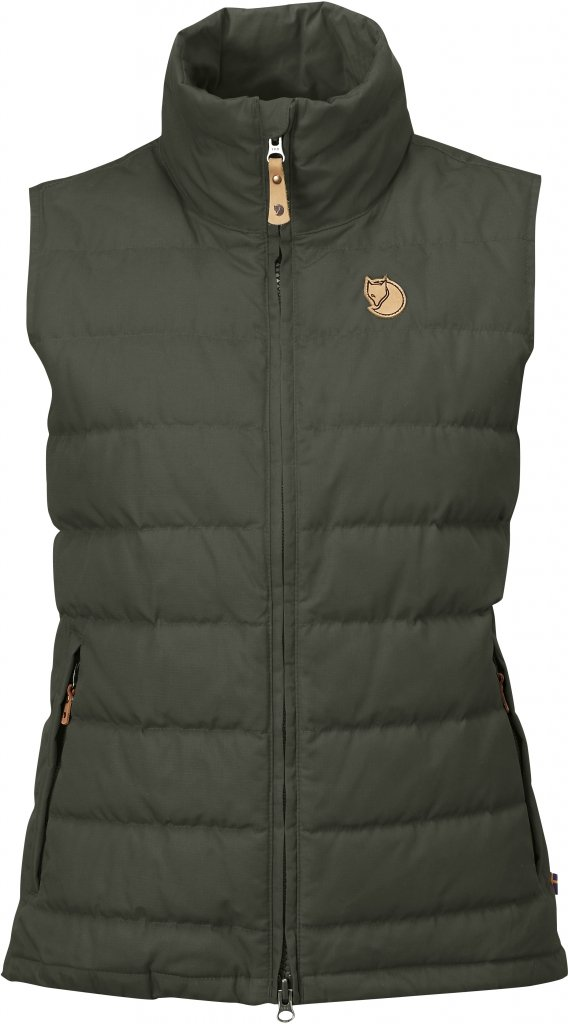 FjallRaven Ovik Lite Vest W. Mountain Grey-30