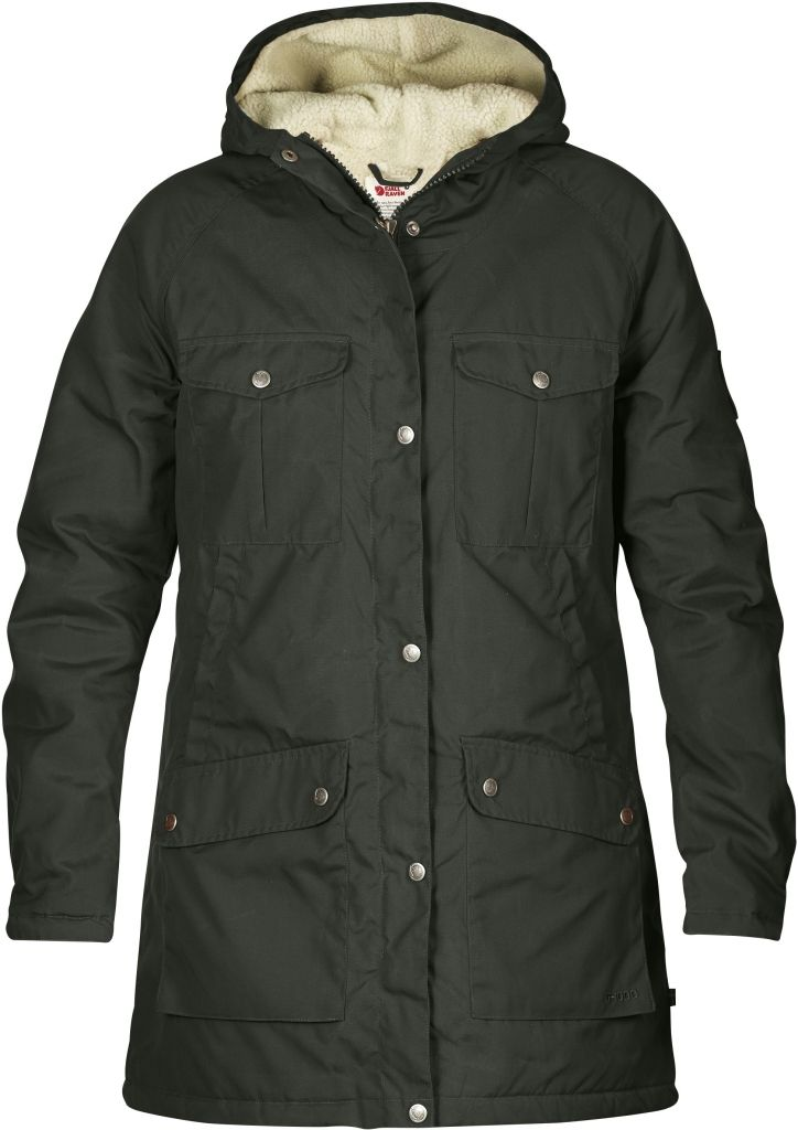 FjallRaven Greenland Winter Parka W Mountain Grey-30