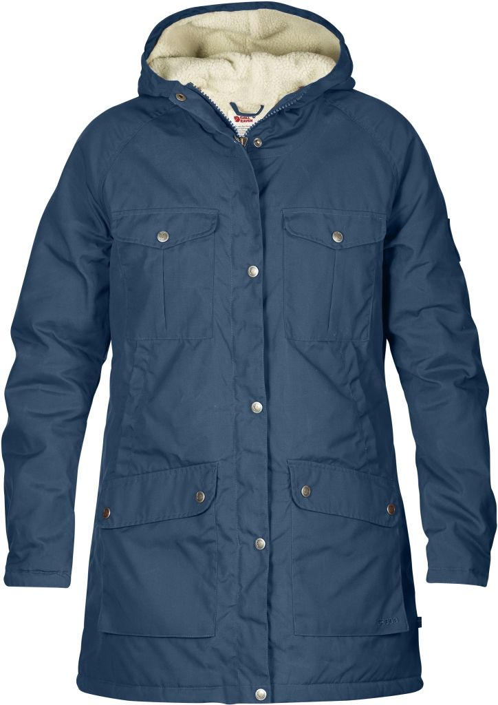 FjallRaven Greenland Winter Parka W Uncle Blue-30