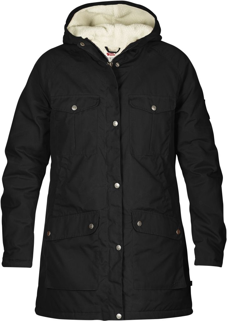 FjallRaven Greenland Winter Parka W Black-30