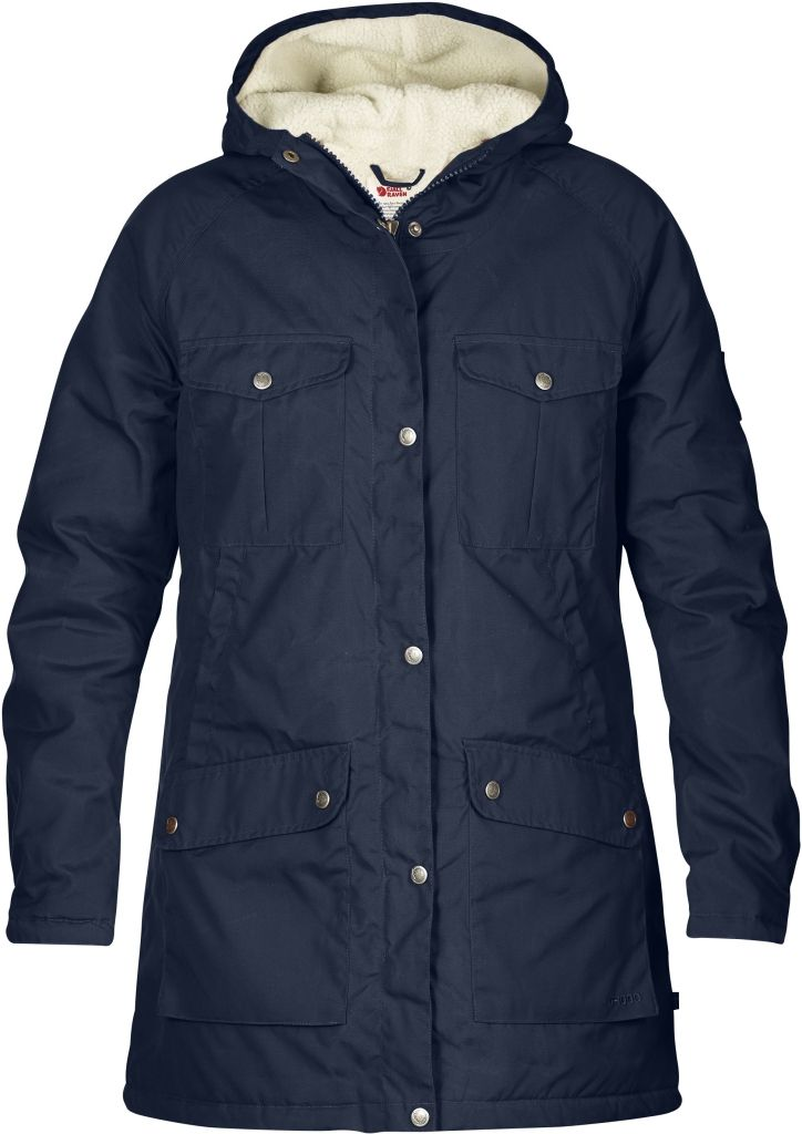 FjallRaven Greenland Winter Parka W Dark Navy-30