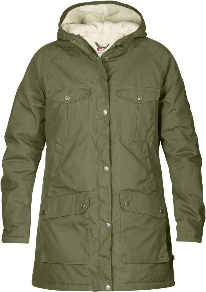 FjallRaven Greenland Winter Parka W Green-30