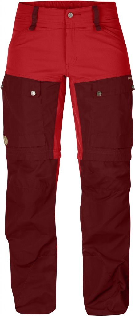 FjallRaven Keb Gaiter Trousers W. Ox Red-30