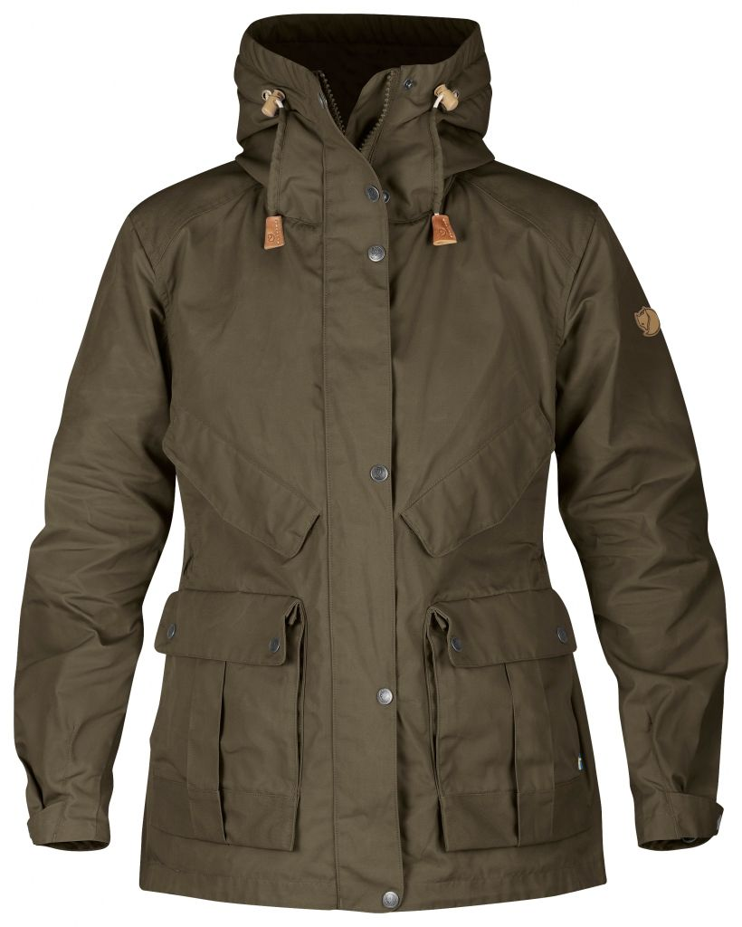 FjallRaven Jacket No.68 W Dark Olive-30