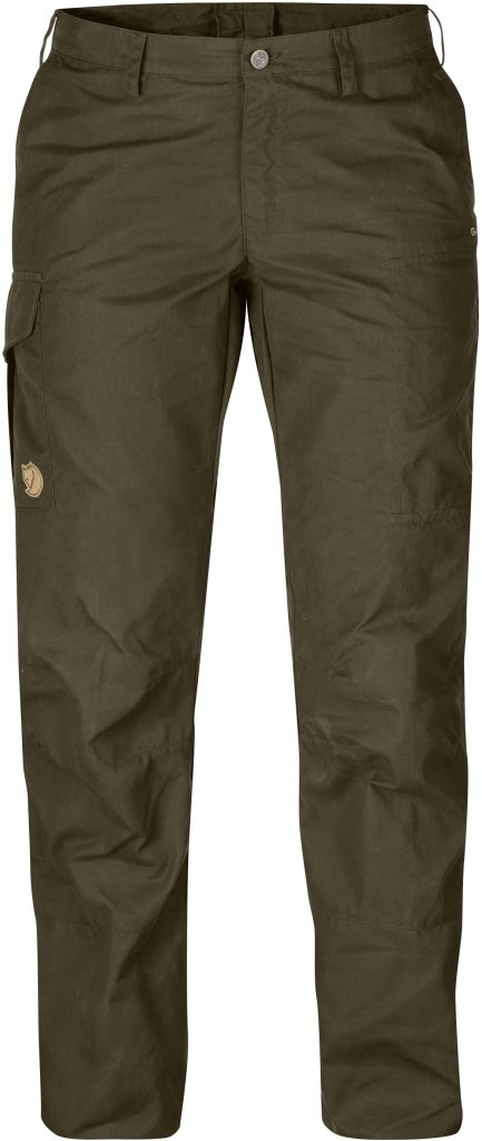 FjallRaven Karla Pro Trousers Curved Dark Olive-30