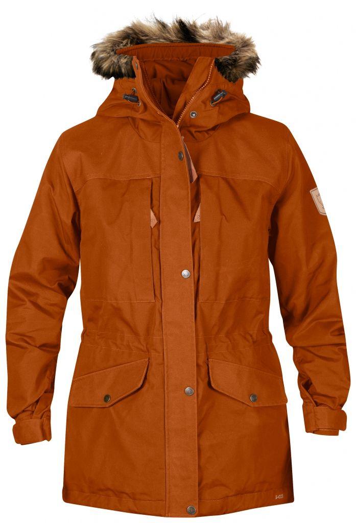 FjallRaven Sarek Winter Jacket W. Autumn Leaf-30