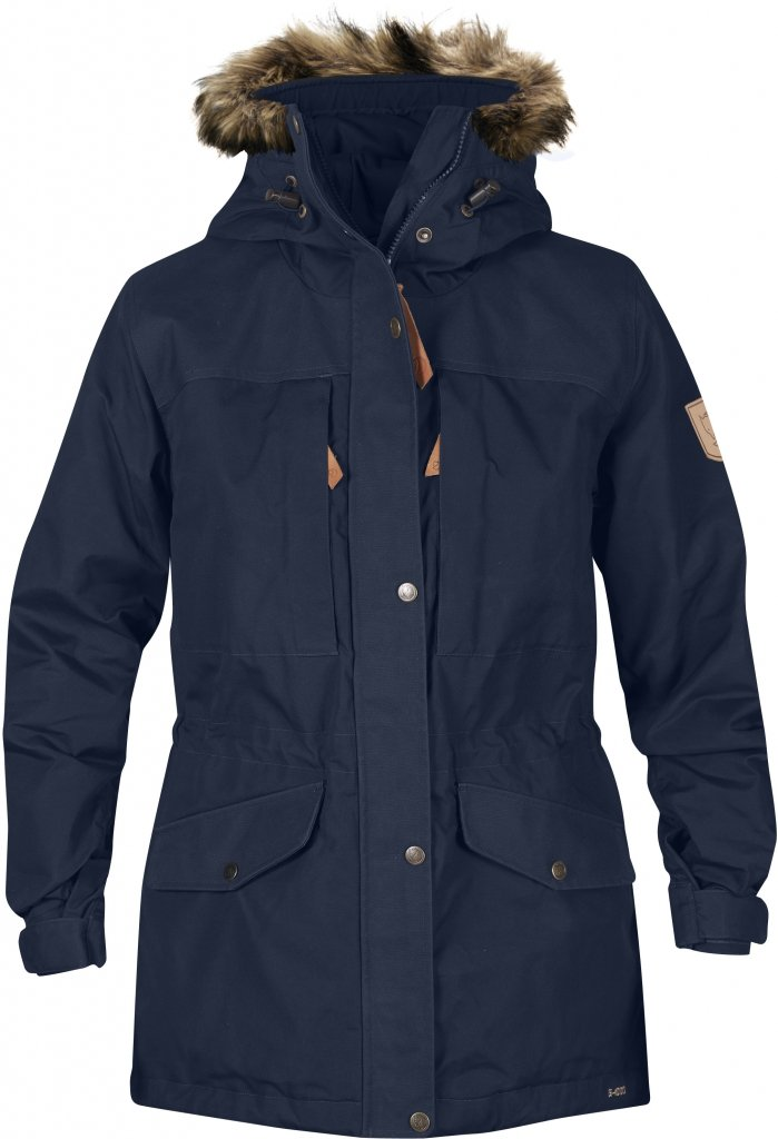 FjallRaven Sarek Winter Jacket W. Dark Navy-30