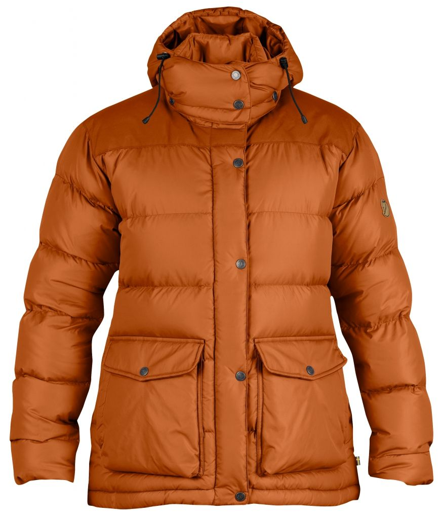 FjallRaven Övik Classic Down Jacket W. Autumn Leaf-30