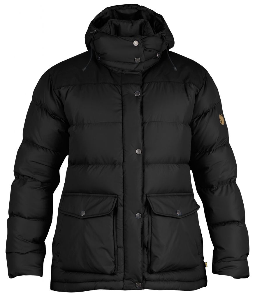 FjallRaven Övik Classic Down Jacket W. Black-30