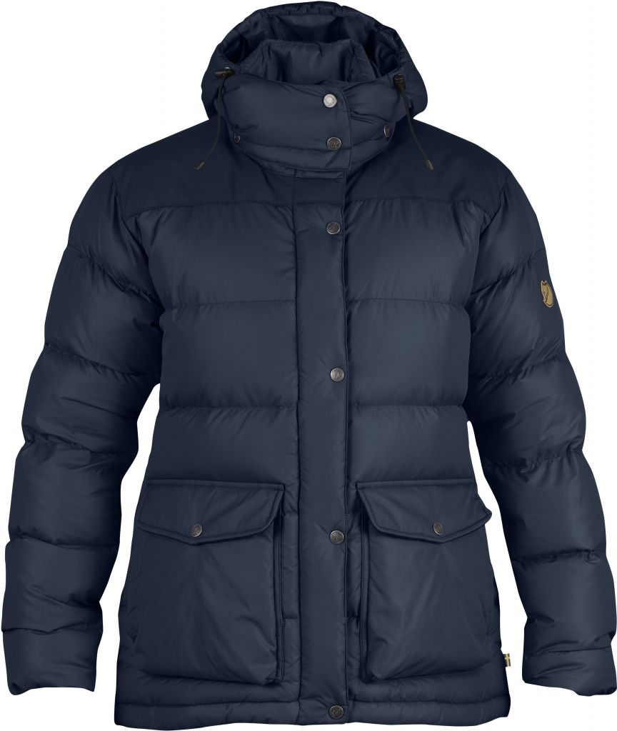 FjallRaven Övik Classic Down Jacket W. Navy-30