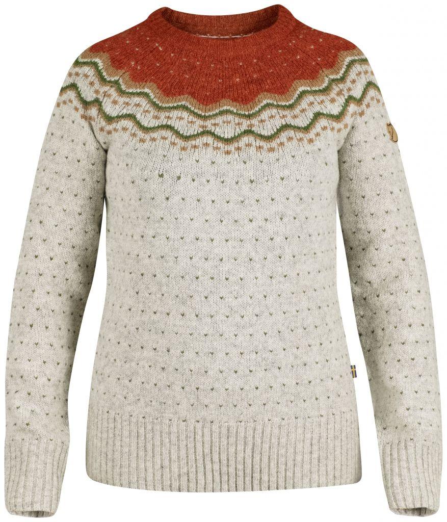 FjallRaven Övik Knit Sweater W. Tarmac-30
