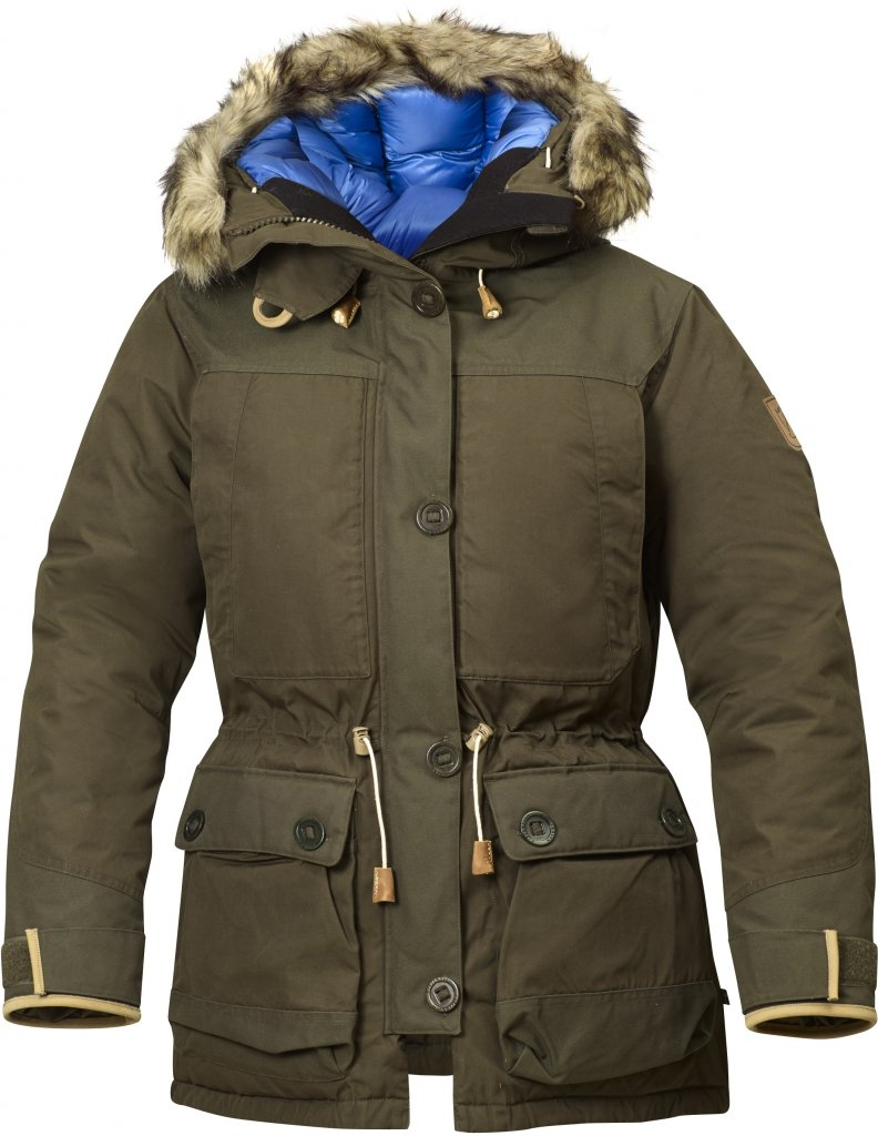 FjallRaven Expedition Down Parka No.1 W Dark Olive-30