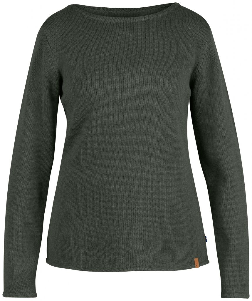 FjallRaven Kiruna Knit Sweater W. Mountain Grey-30