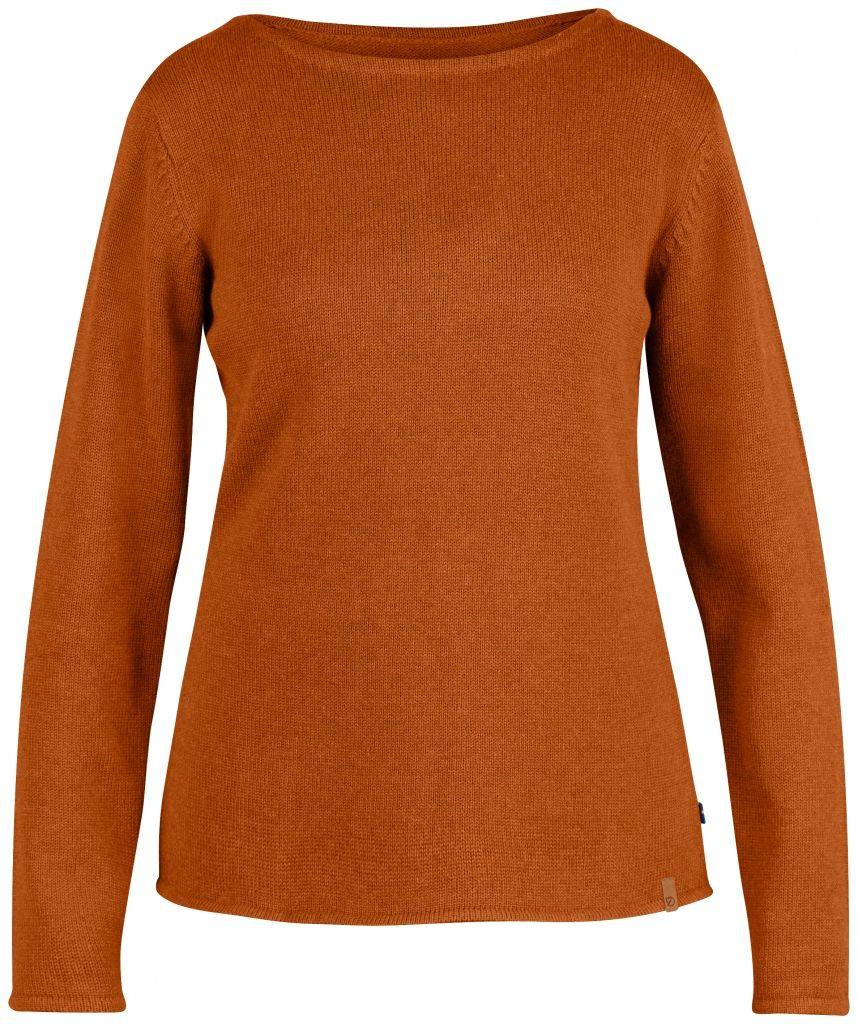 FjallRaven Kiruna Knit Sweater W. Autumn Leaf-30