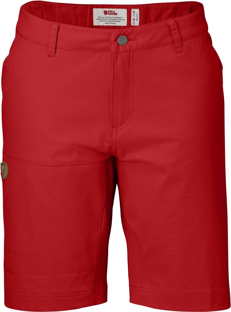 FjallRaven Abisko Lite Shorts W Red-30