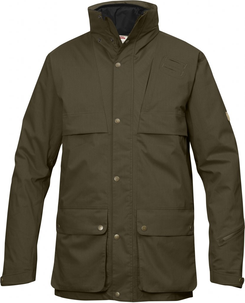 FjallRaven Varmland 3 in 1 Jacket Dark Olive-30
