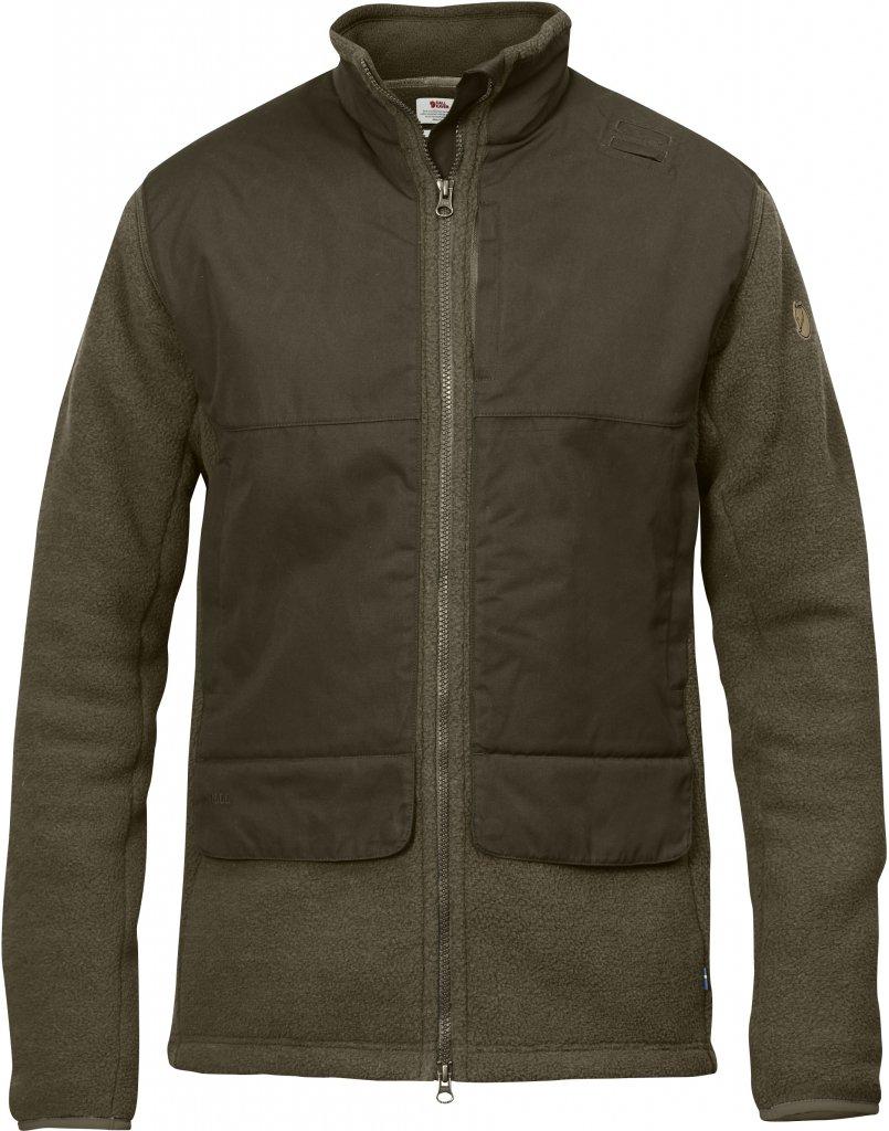 FjallRaven Sormland Pile Jacket Dark Olive-30