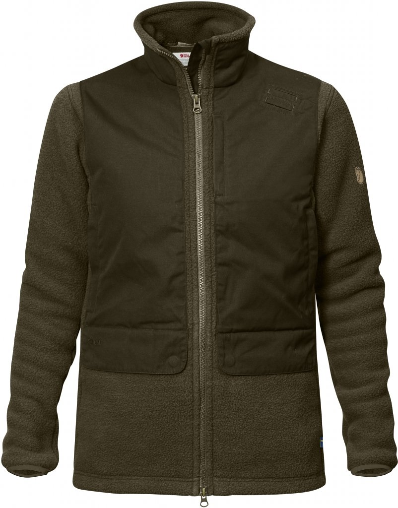 FjallRaven Sormland Pile Jacket W Dark Olive-30