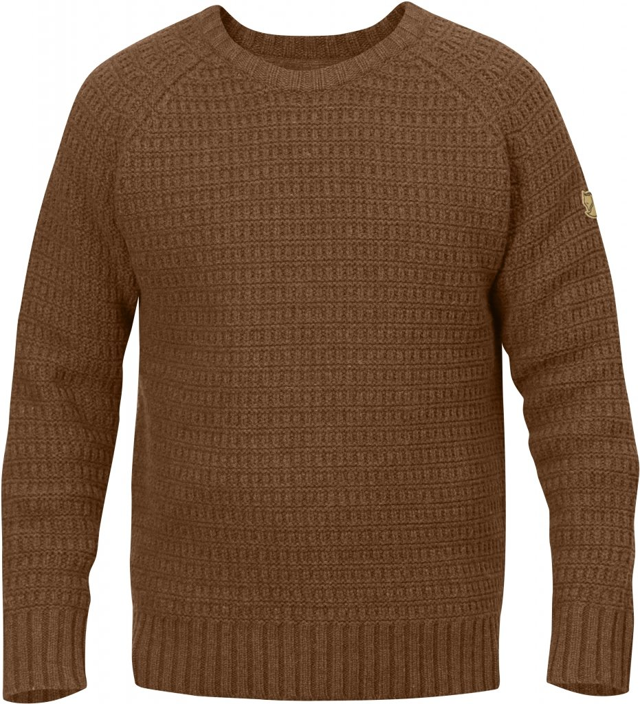 FjallRaven Sormland Roundneck Sweater Chestnut-30
