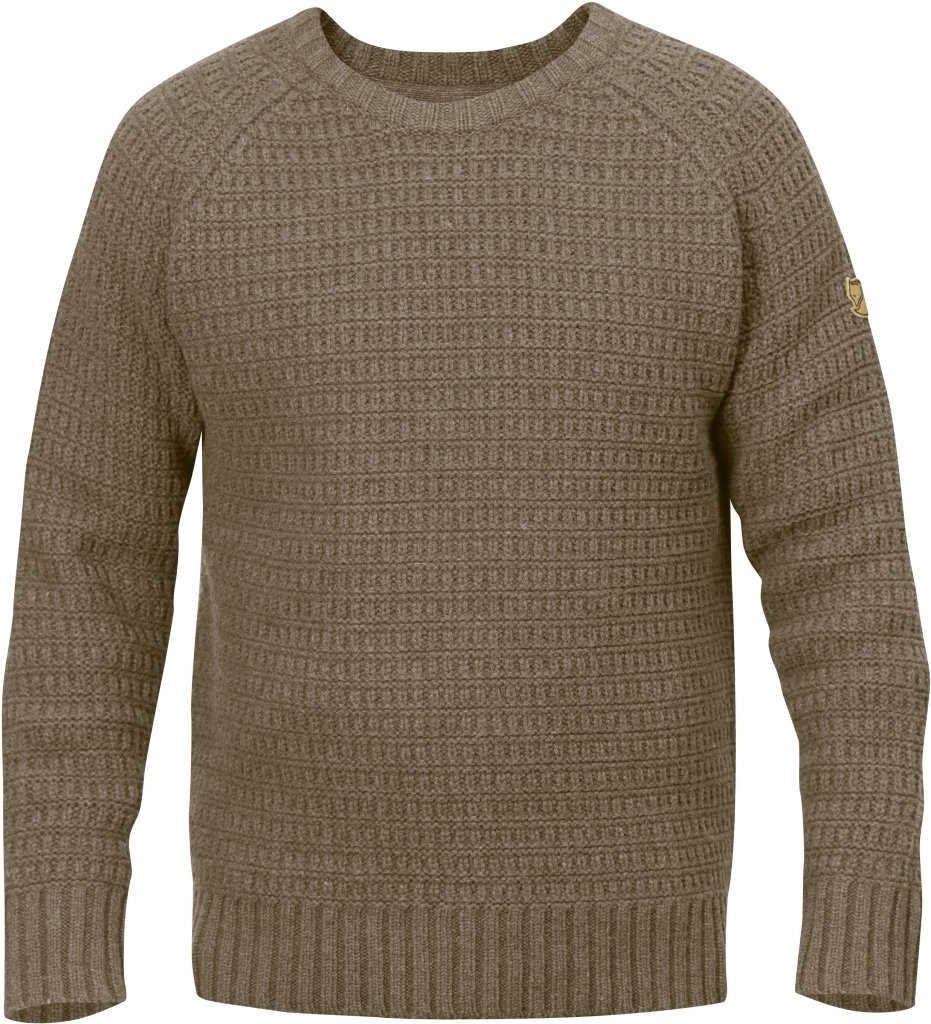 FjallRaven Sormland Roundneck Sweater Taupe-30